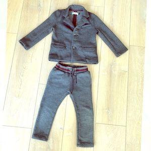 Jean Bourget Cotton Toddler Suit